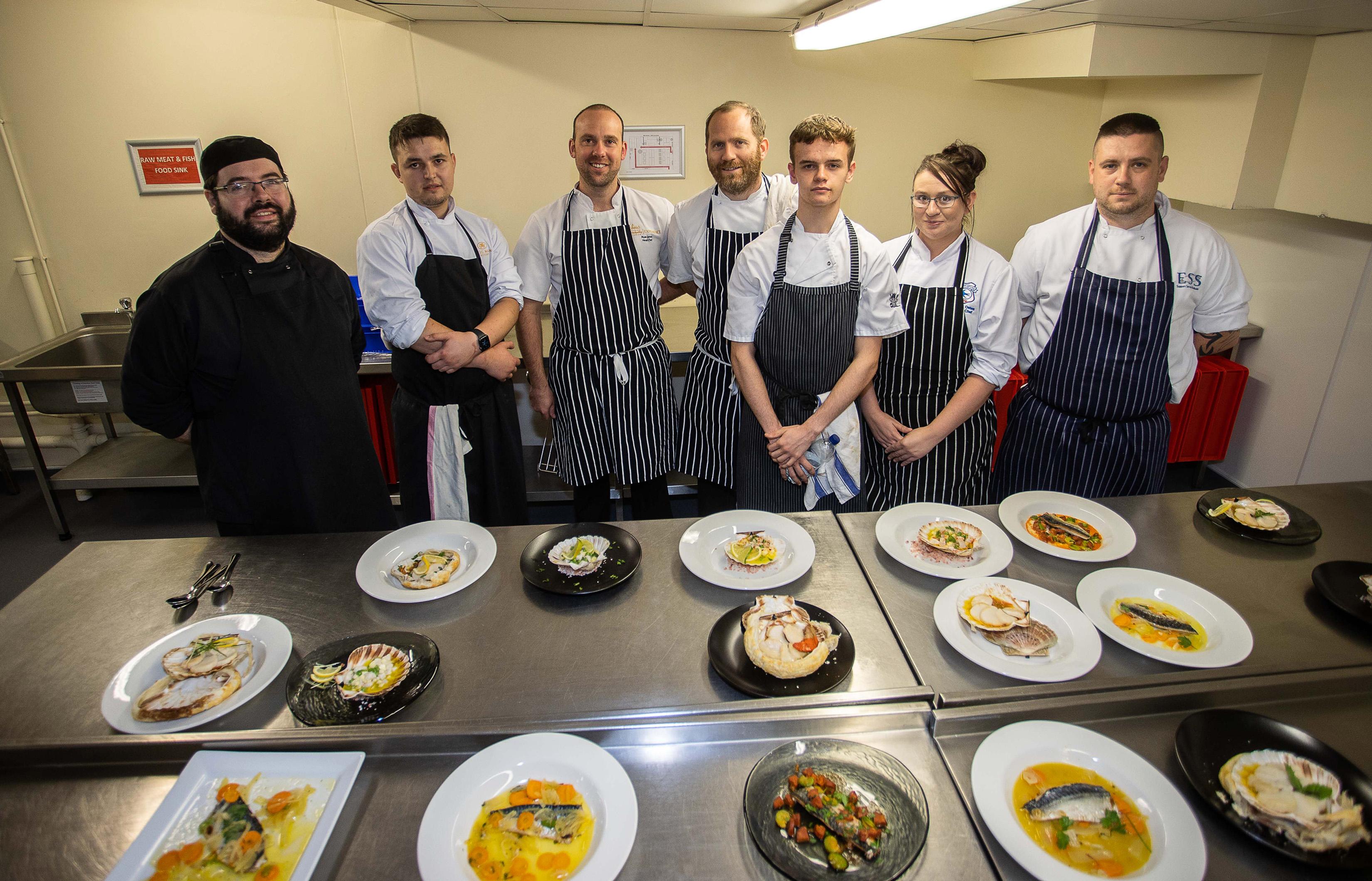 Compass Cymru Culinary Apprenticeship Programme kicks off at Principality Stadium